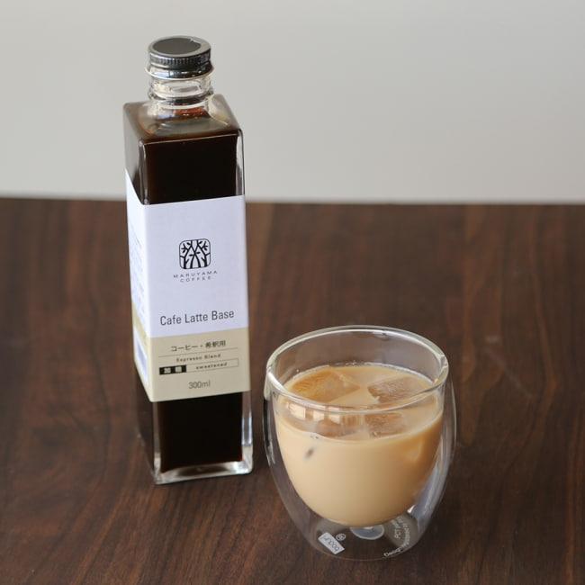 丸山珈琲のカフェラテベース微糖