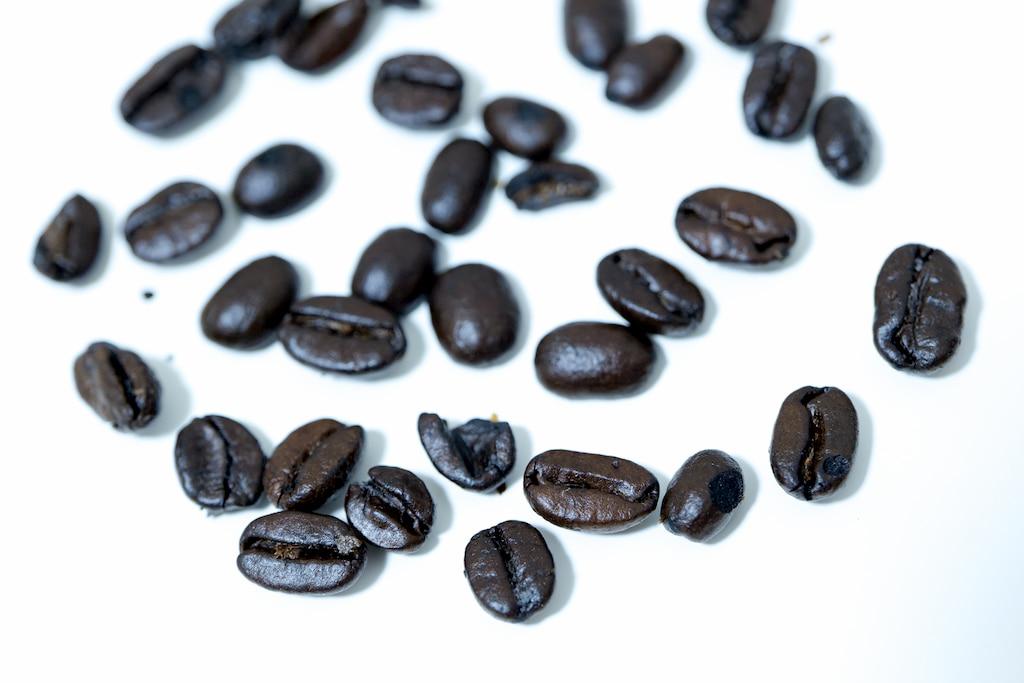 エスプレッソブレンドの豆の状態