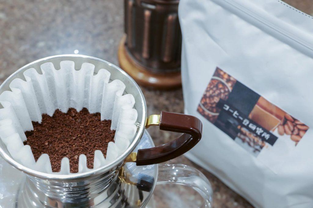 コーヒー豆研究所ドリップ