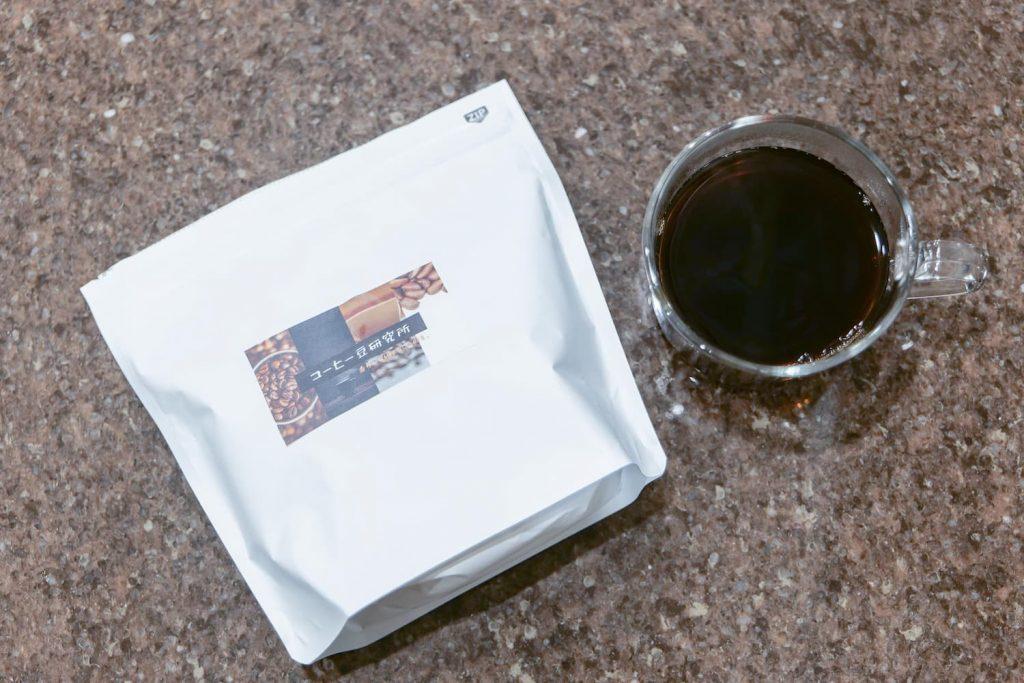 コーヒー豆研究所試飲