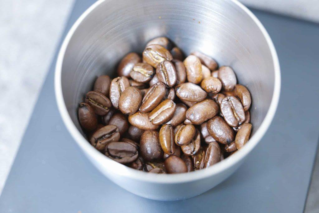 コーヒ豆計測