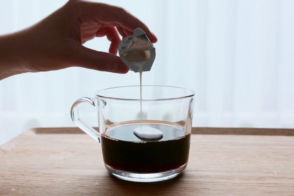 ドリップコーヒーゼリー