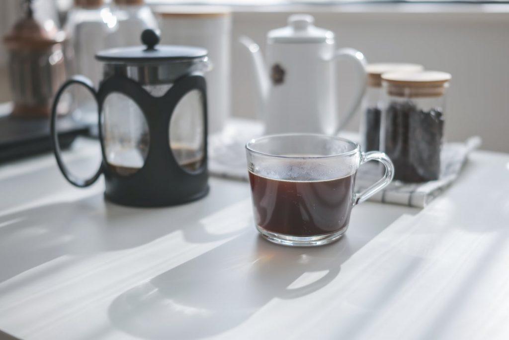 フレンチプレスコーヒー (2)