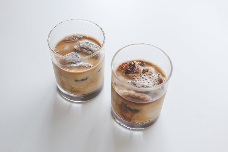 氷コーヒーカフェオレ