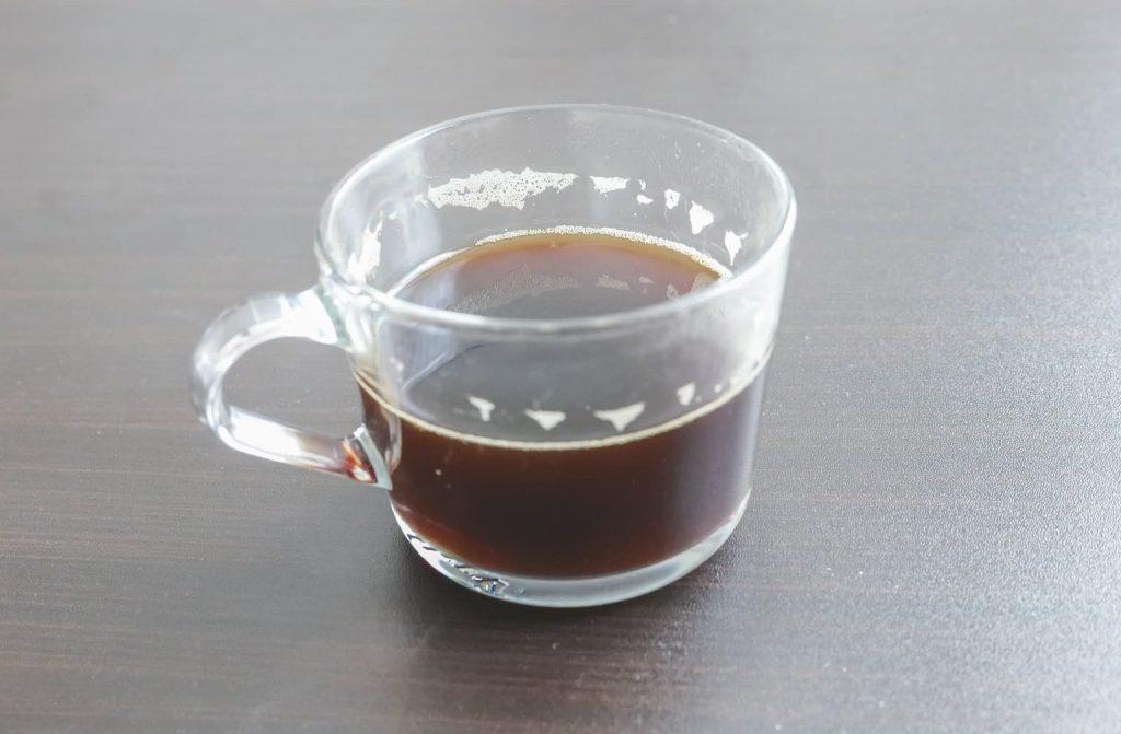エクササイズコーヒーホット