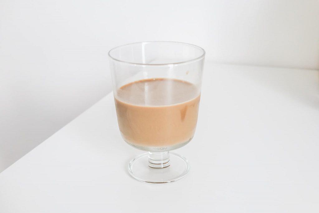 スリムコーヒーアーモンドミルクラテ
