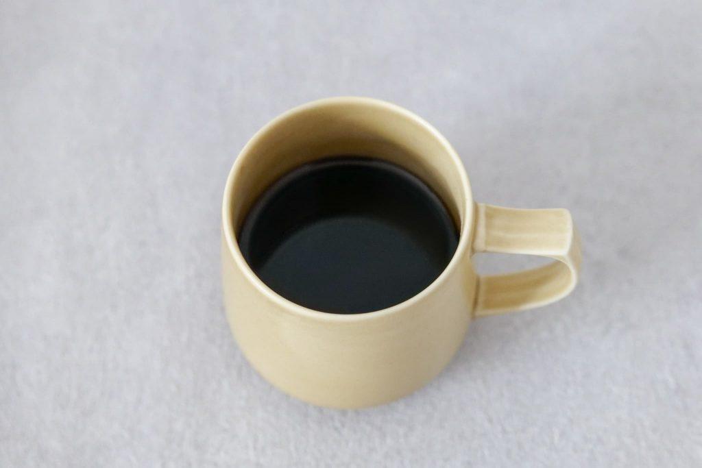 スリムコーヒーホットブラックコーヒー