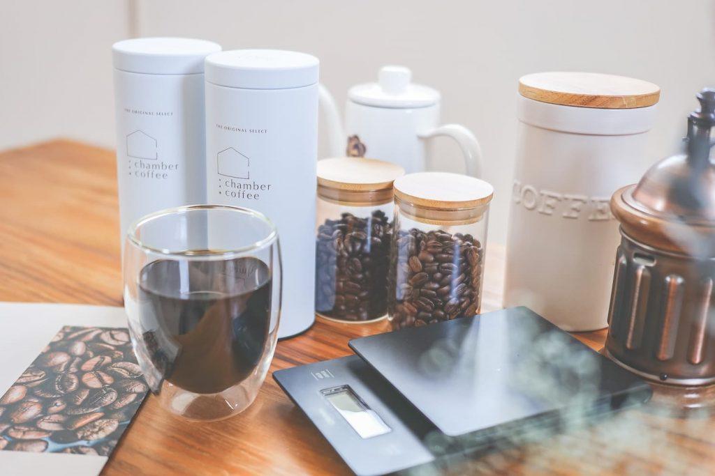 チャンバーコーヒーオリジナル保存缶イメージ