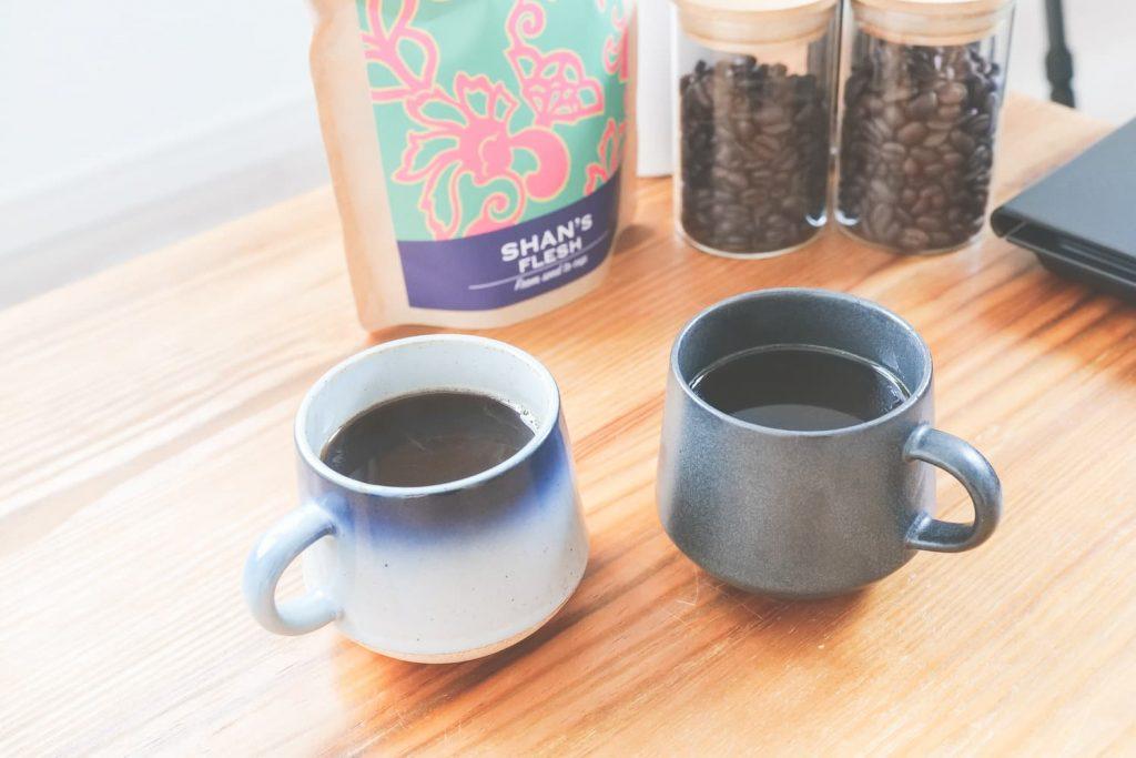 caferangoonのコーヒーを飲む