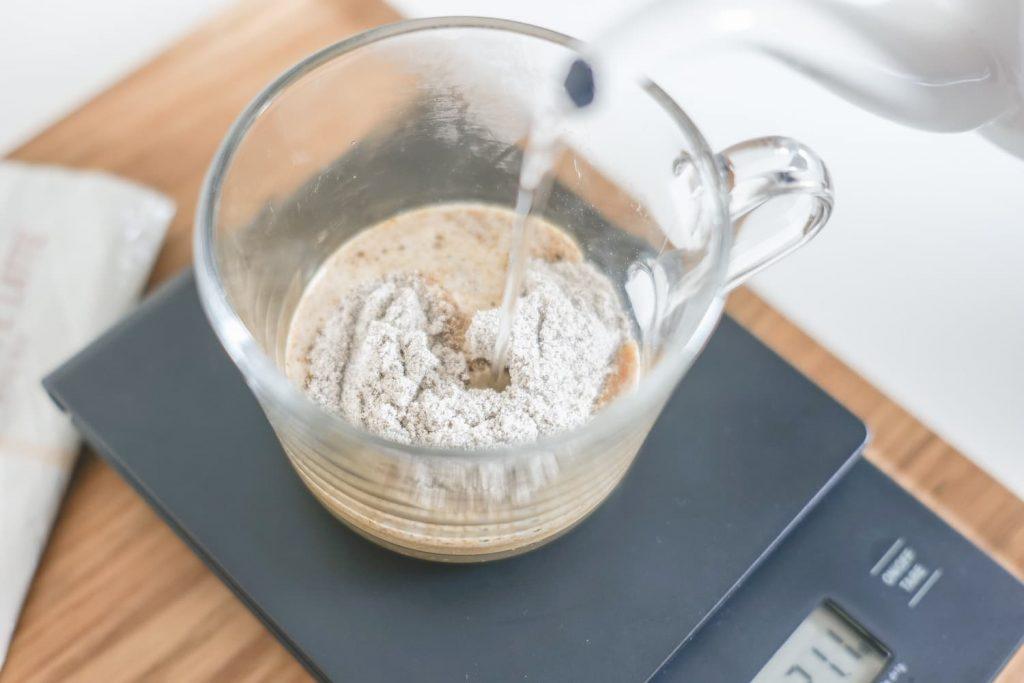 スターバックスプレミアムミックスカフェラテお湯で溶かす