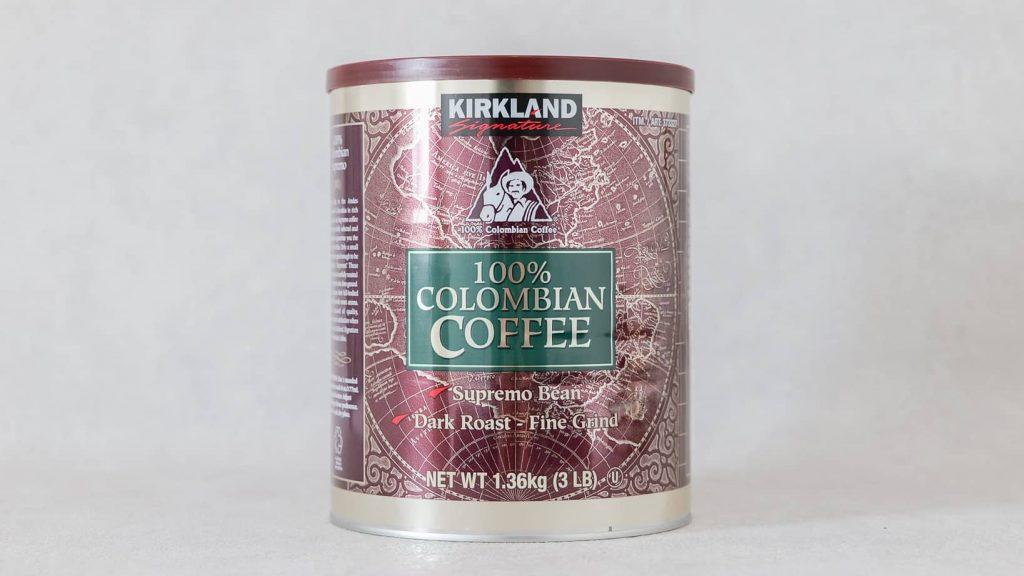 コロンビアコーヒー缶