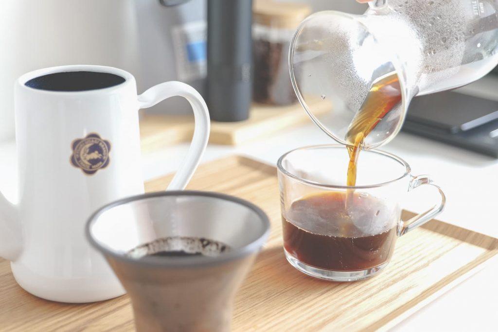 variaグラインダーで淹れたコーヒー (2)